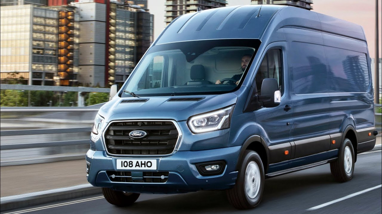 6 Ford TRANSIT VAN – (interior, exterior, and drive) / NEW Ford TRANSIT  6 - 2020 ford van 4x4