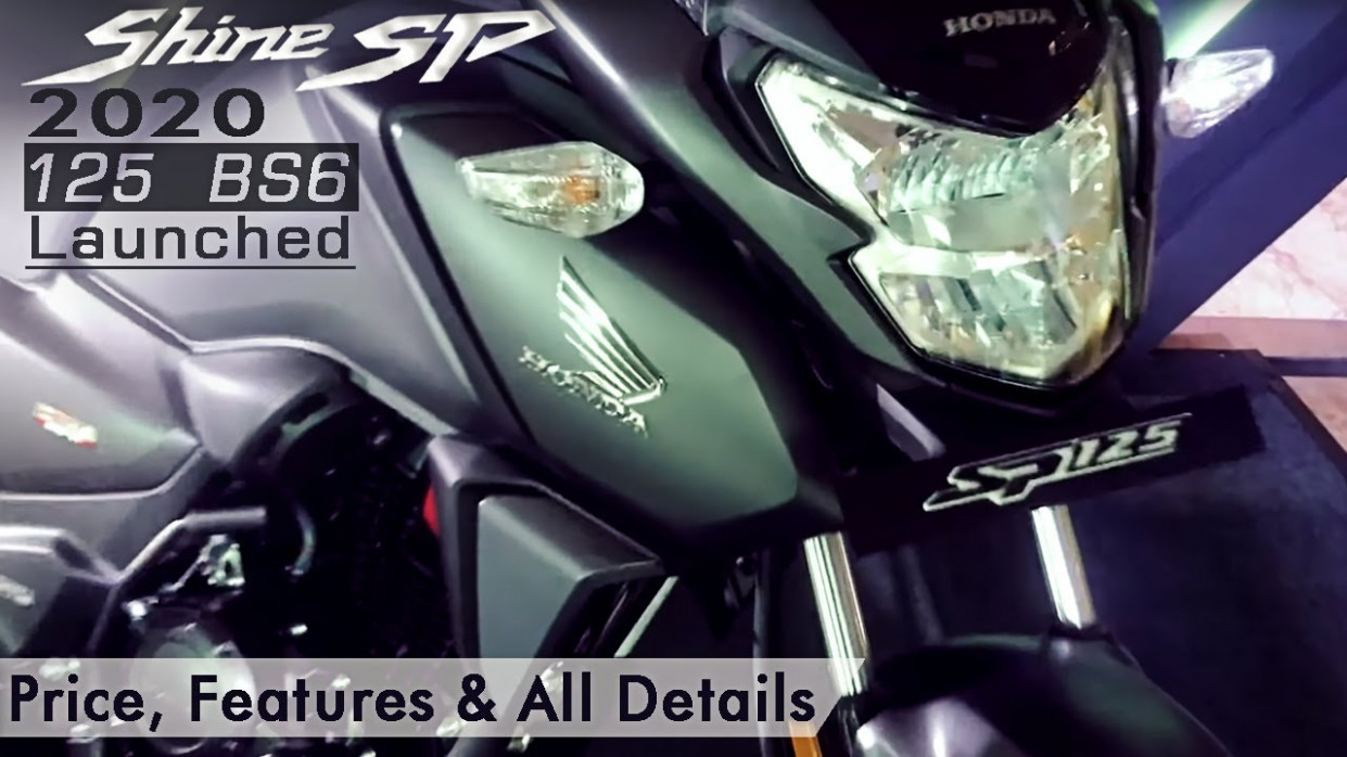 6 Honda Shine SP 6 BS6 Launched | Price, Features & all Details  #rider_VEER_JI