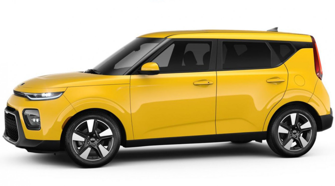 6 Kia Soul In Solar Yellow Color. Is It Available In U.S