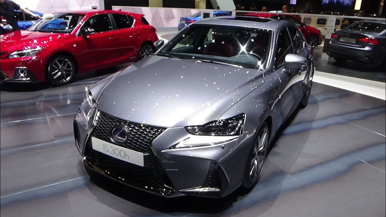 6 Lexus IS 6h F Sport - Exterior and Interior - Geneva Motor Show 6 - lexus is 300 f sport 2020