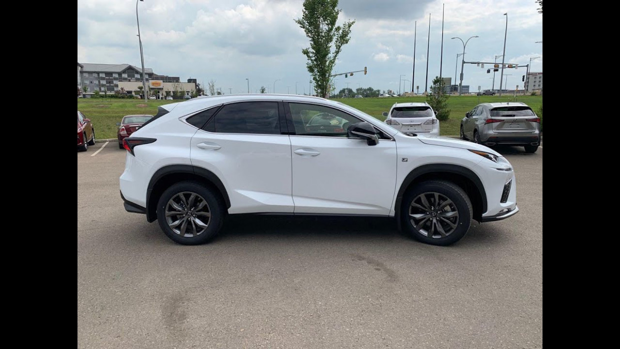 6 Lexus NX 6 F SPORT in Eminent White Pearl Review - lexus white suv 2020