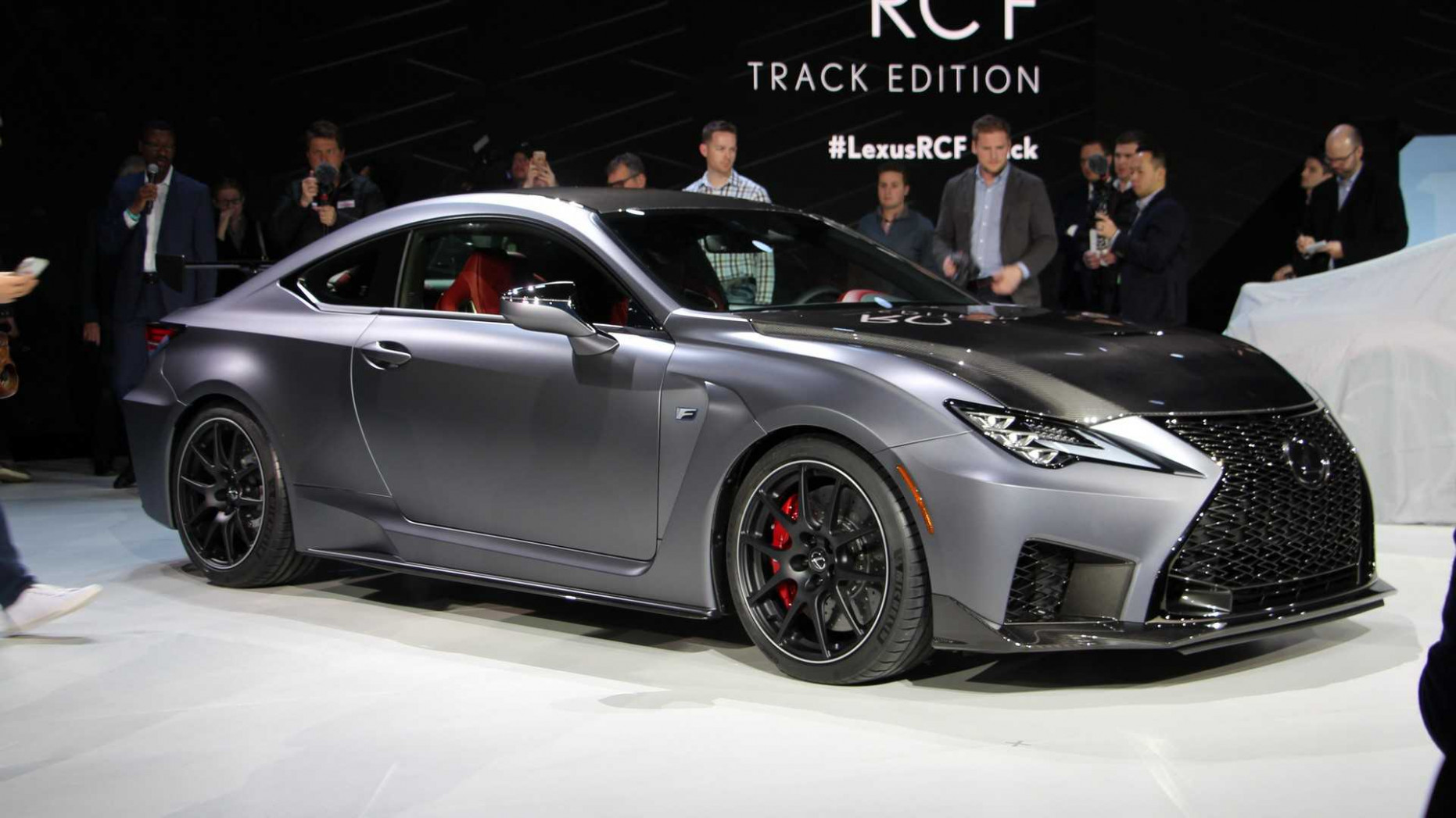 6 Lexus RC F Track Edition Debuts In Detroit [UPDATE]