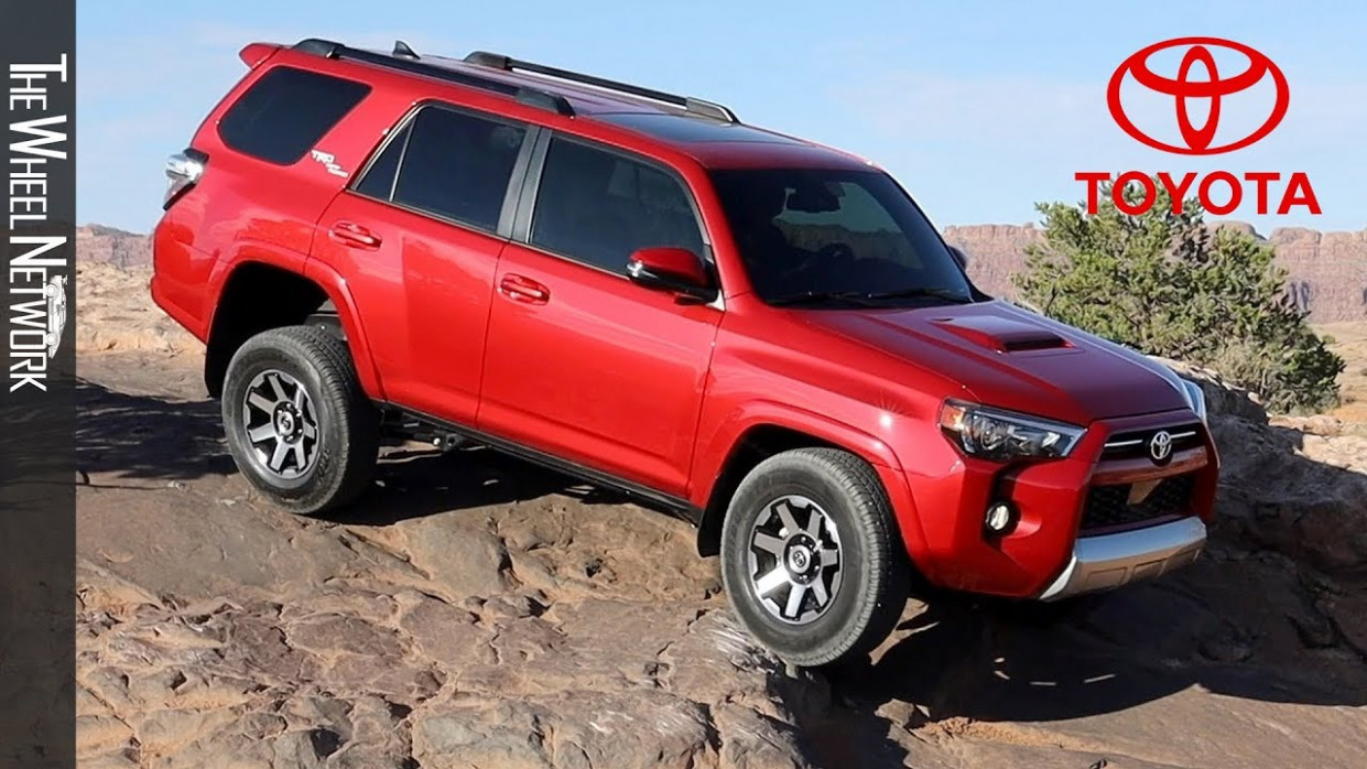 6 Toyota 6Runner TRD Off-Road | Barcelona Red | Driving, Interior,  Exterior