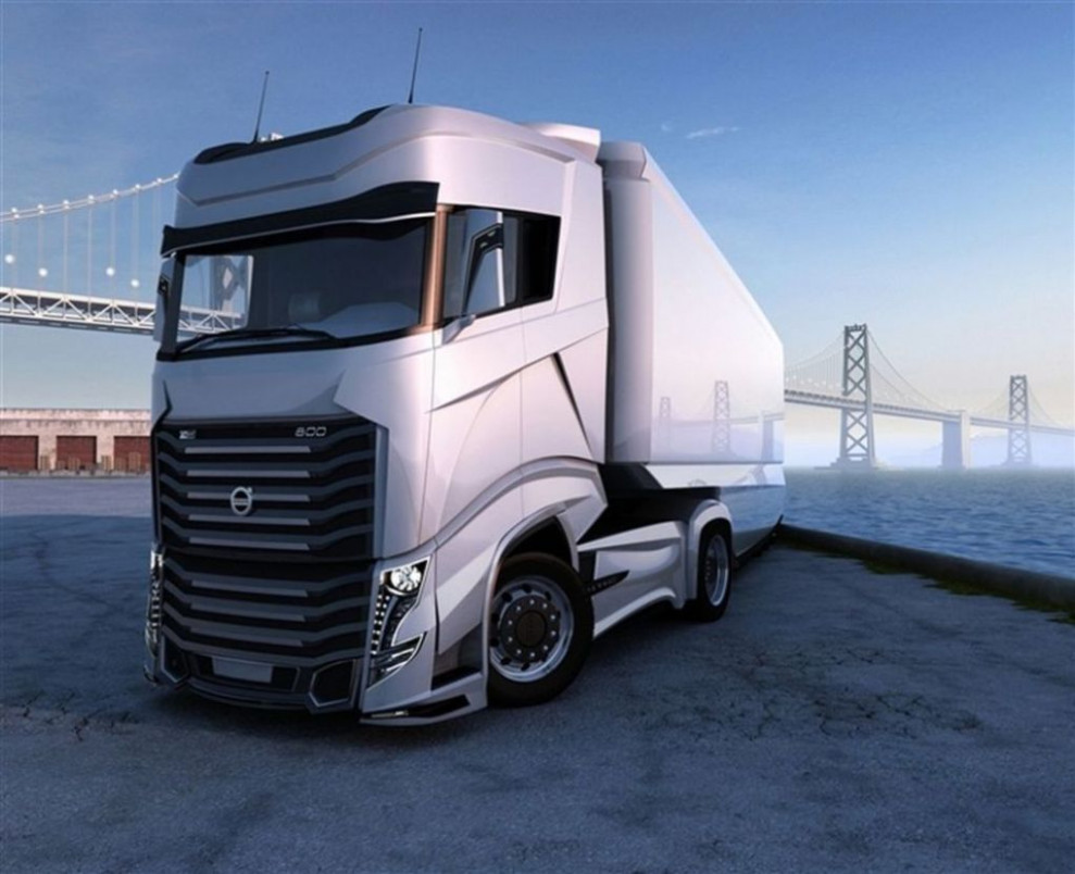 6 volvo fh6 6 hp tractor Exterior and Interior Review 6 ..