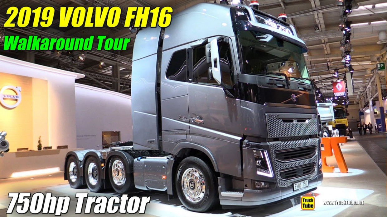 6 Volvo FH6 6hp Tractor - Exterior and Interior Walkaround - 6 IAA  Hannover - 2020 volvo fh16 750 hp tractor
