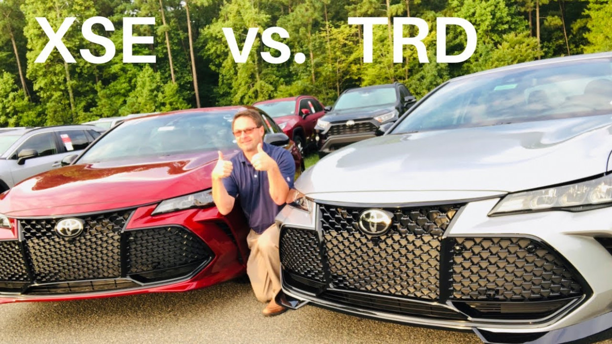 7 Avalon TRD vs XSE Full Comparison & Exhaust Demo - lexus vs avalon 2020