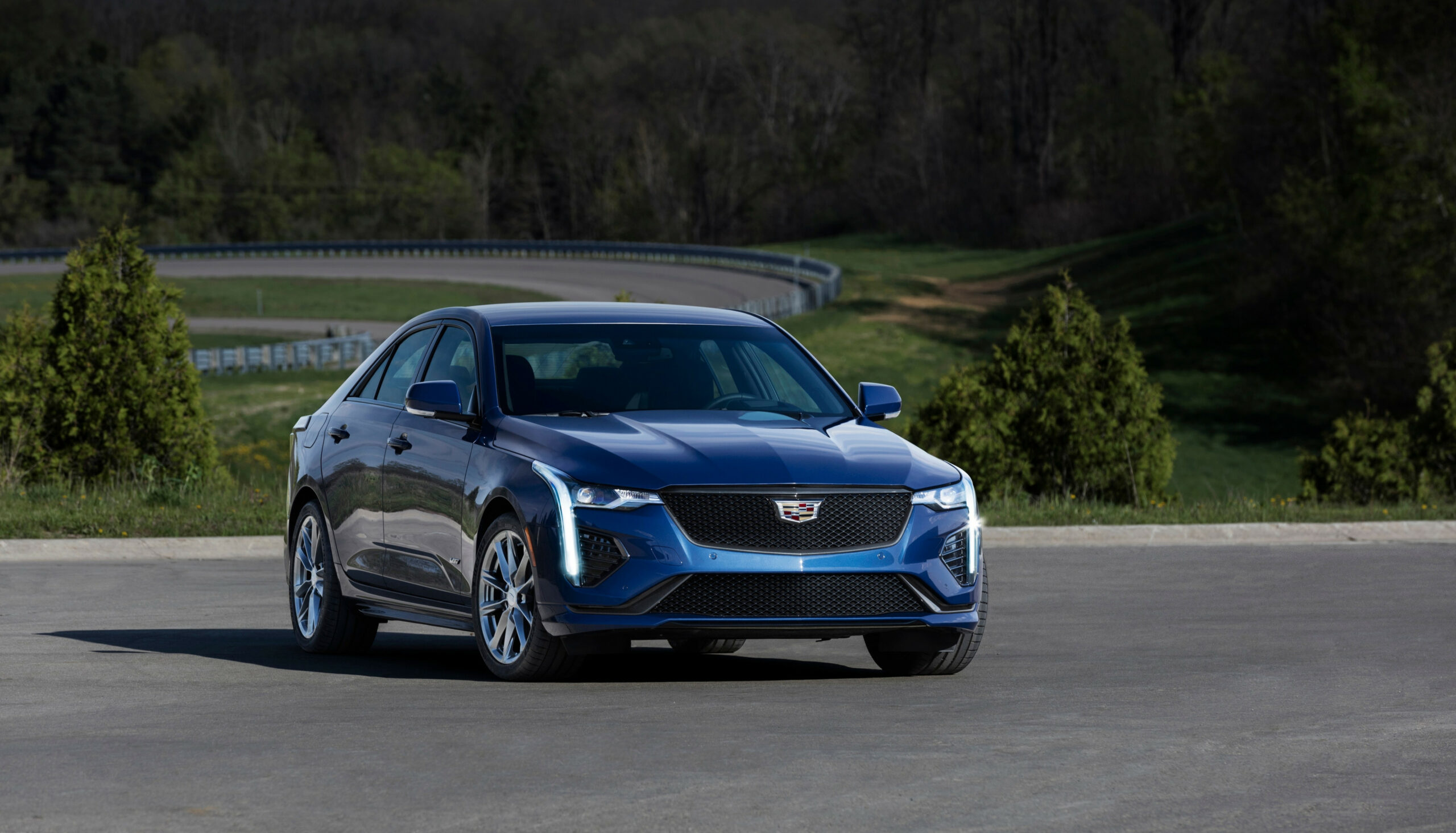 7 Cadillac CT7-V First Look | Kelley Blue Book - 2020 cadillac blue