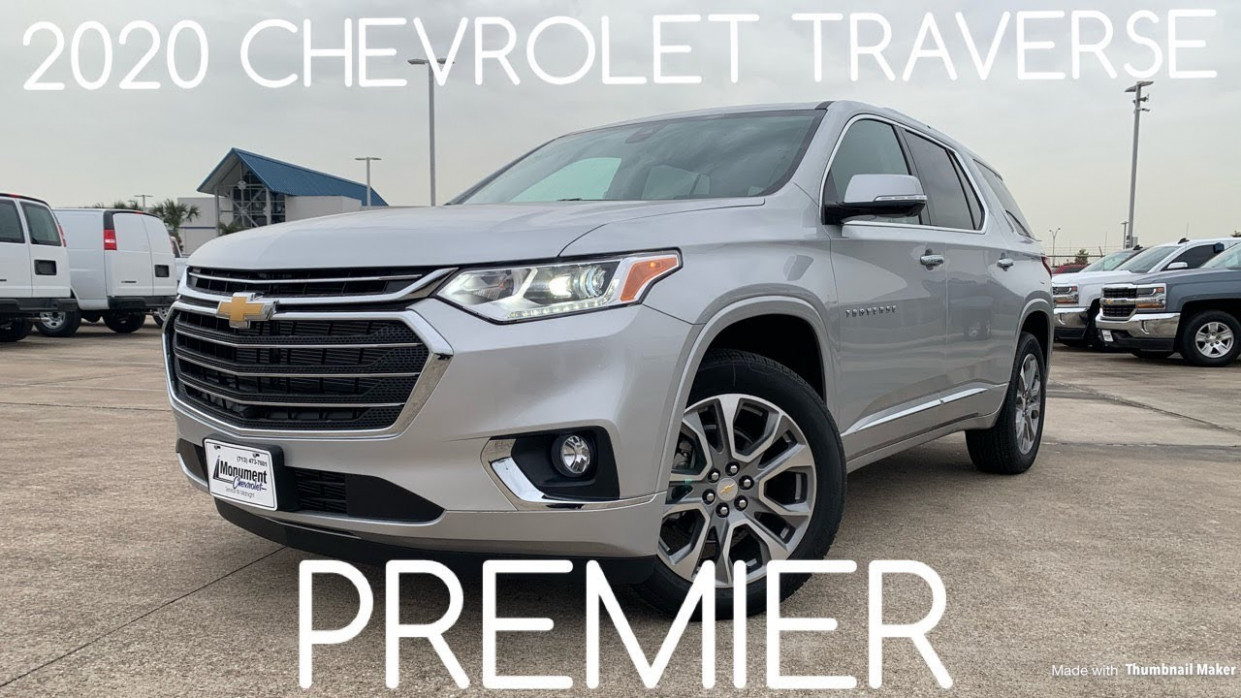 7 Chevrolet Traverse Premier: Startup & Review