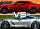 7 Dodge Challenger SRT Demon vs 7 Chevrolet Corvette Grand Sport