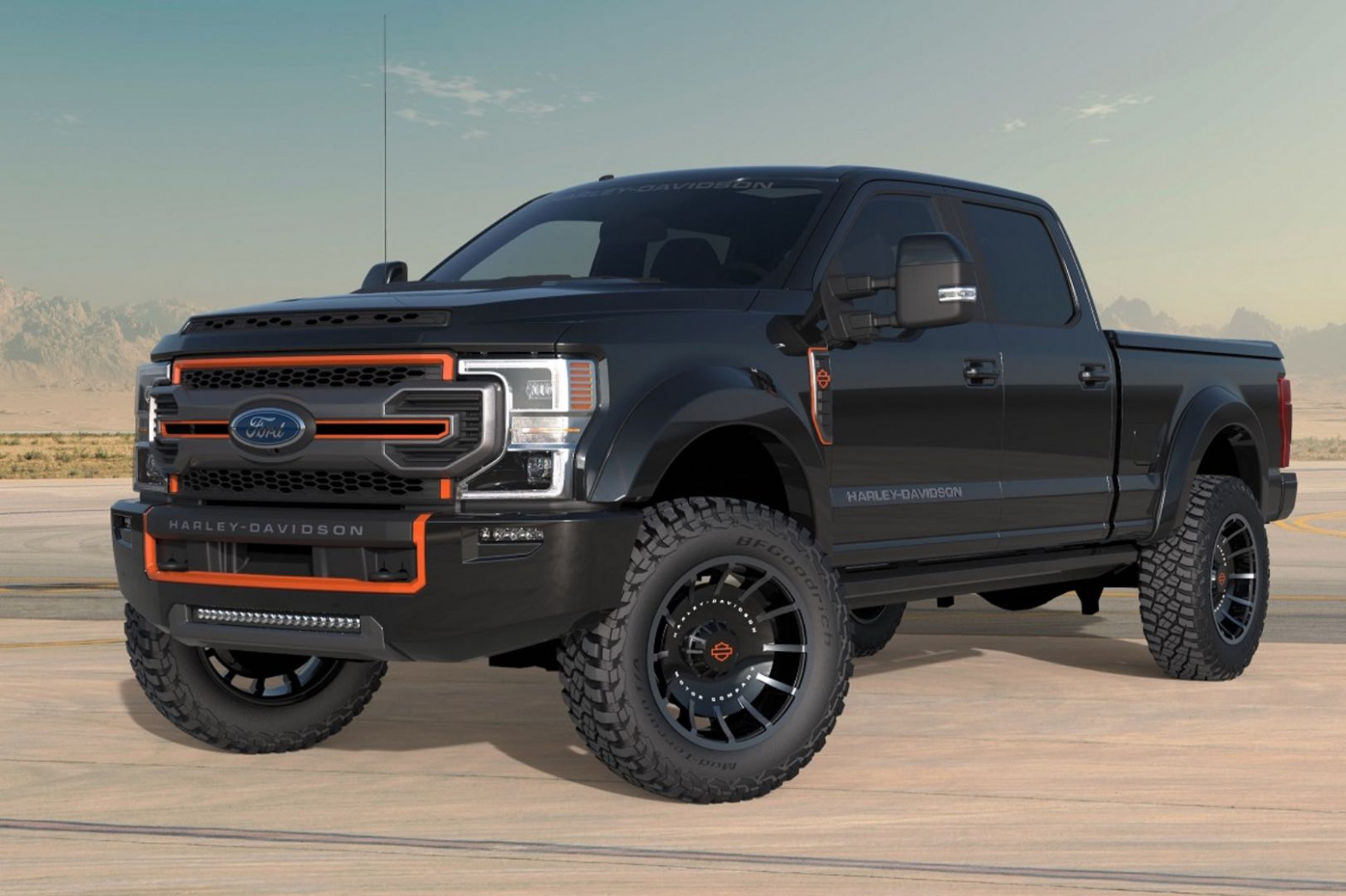7 Harley-Davidson Ford F-7 Inspired by Fat Boy Unveiled