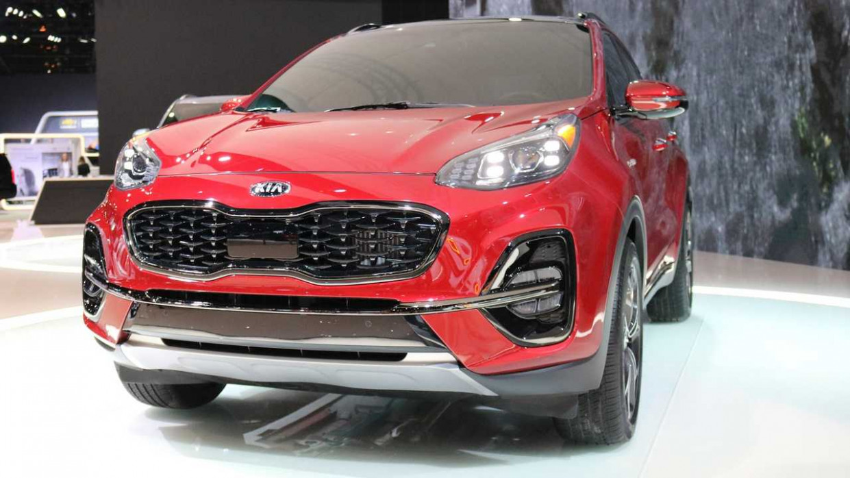 7 Kia Sportage Debuts In Chicago With Fresh Face, More Tech - 2020 kia awd