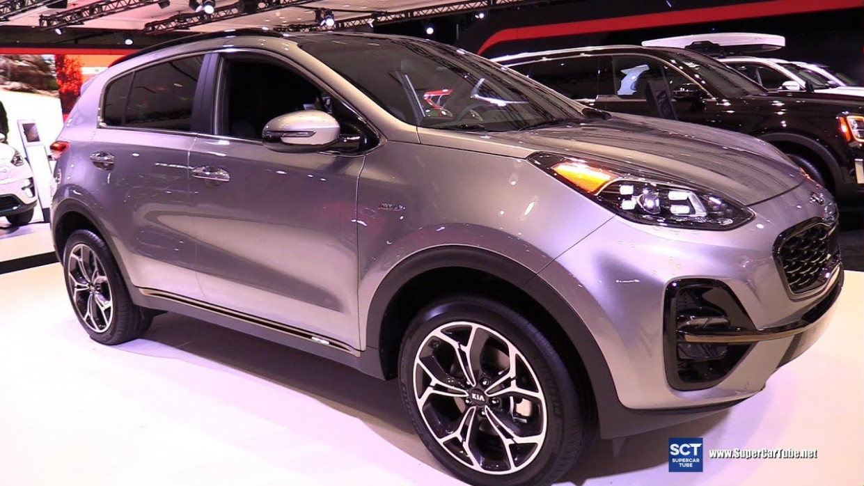 7 KIA Sportage SX AWD - Exterior and Interior Walkaround - 7 New York  Auto Show - 2020 kia awd