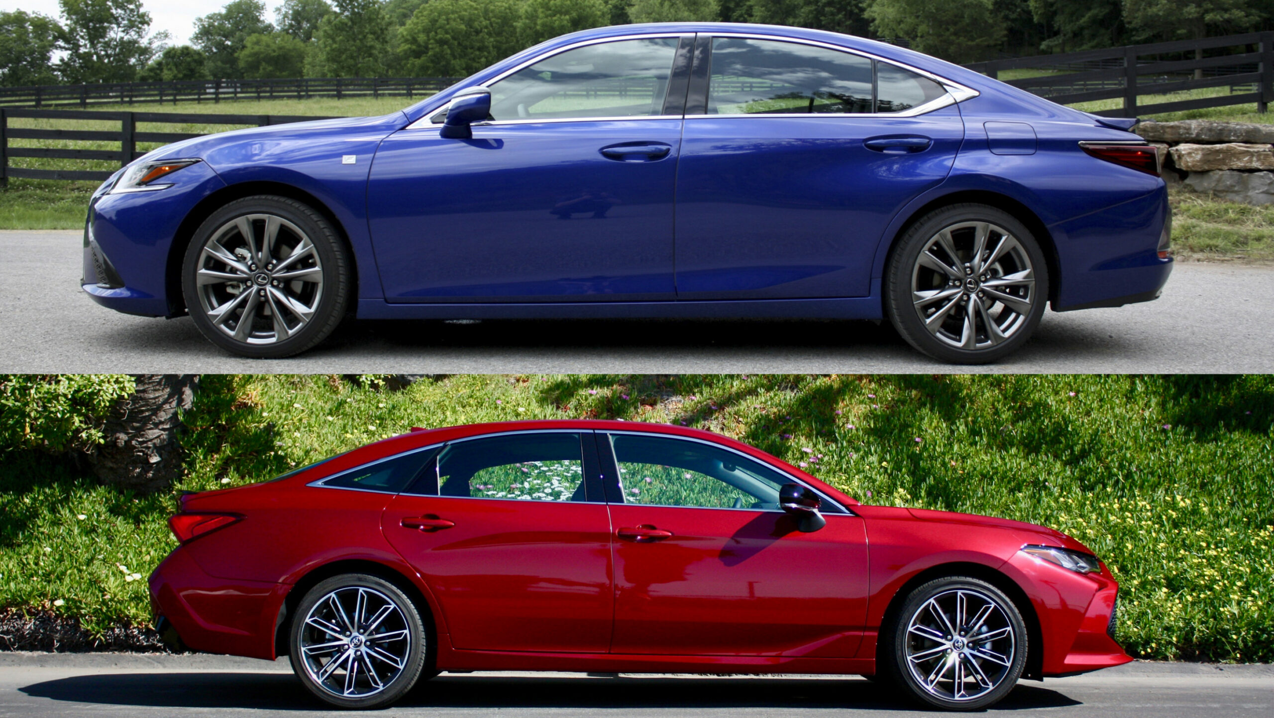 7 Lexus ES Versus 7 Toyota Avalon - Which Is Better? | Top Speed - lexus vs avalon 2020