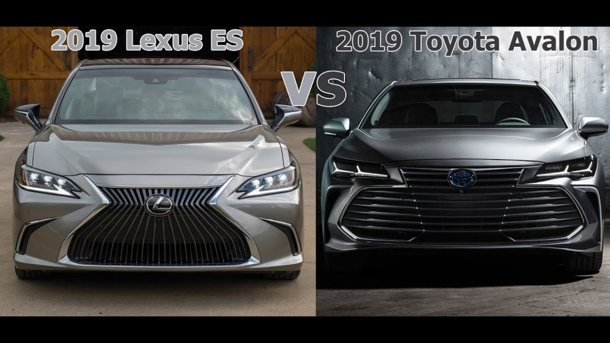 7 Lexus ES vs. 7 Toyota Avalon Which is better? [Lastest News]
