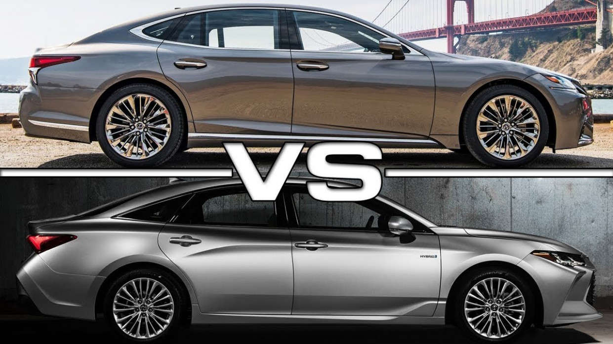 7 Lexus LS vs 7 Toyota Avalon - lexus vs avalon 2020