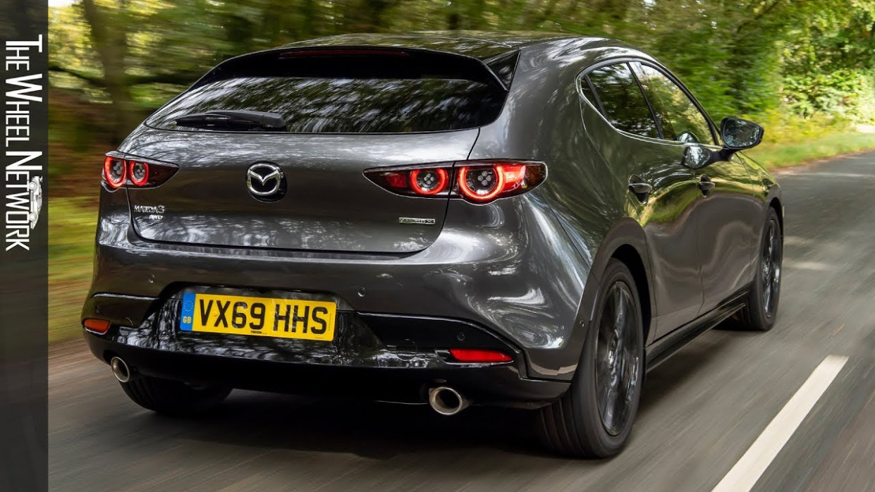 7 Mazda 7 Skyactiv-X GT Sport Tech Hatchback | Machine Grey | Driving,  Interior, Exterior (UK)