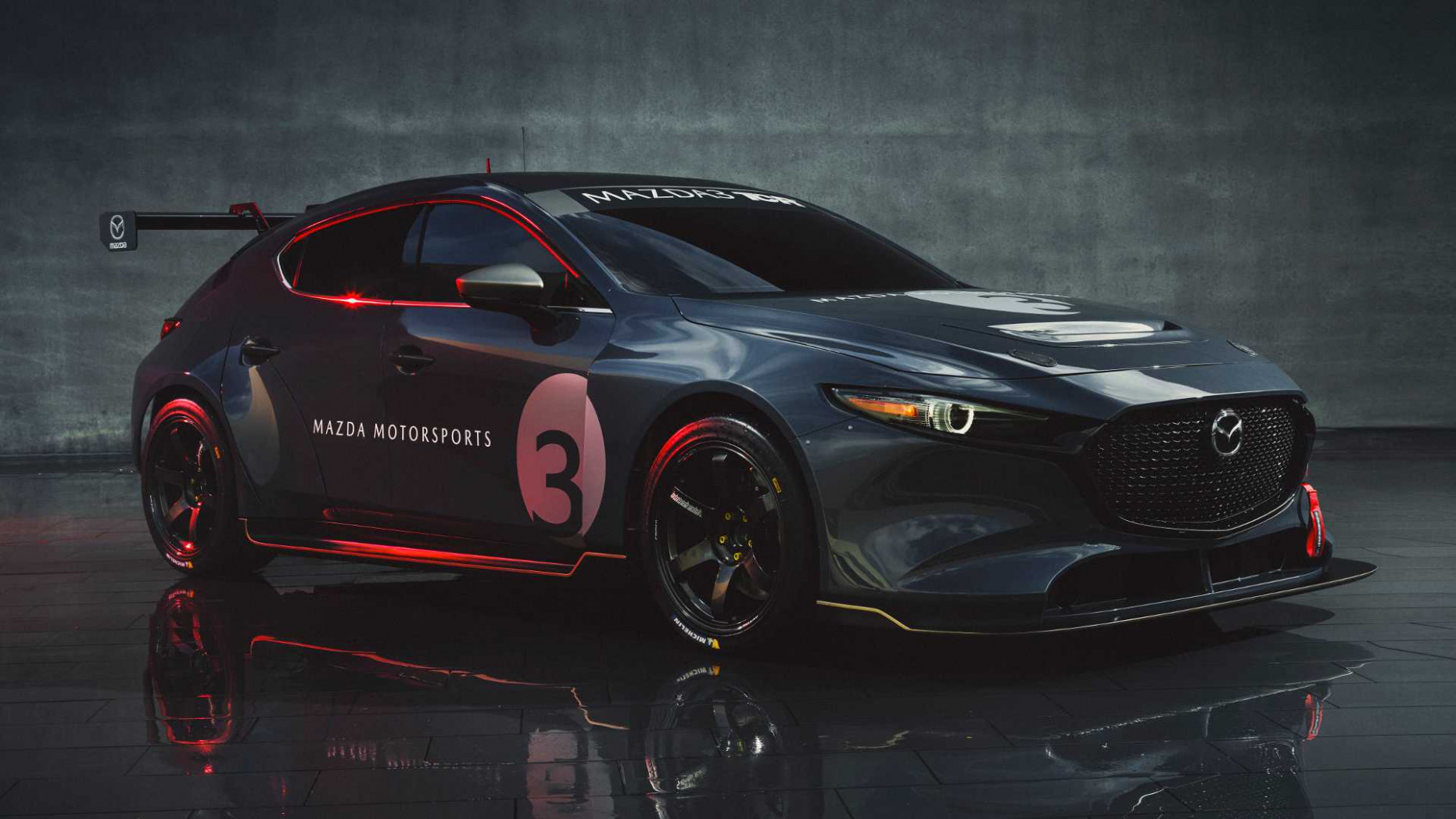 7 Mazda7 TCR Race Car Debuts With 750 HP And Big Wing