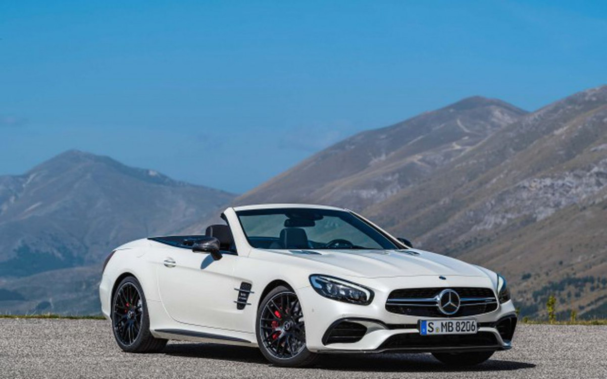7 Mercedes-Benz SL reviews, news, pictures, and video - Roadshow - 2020 mercedes sl550