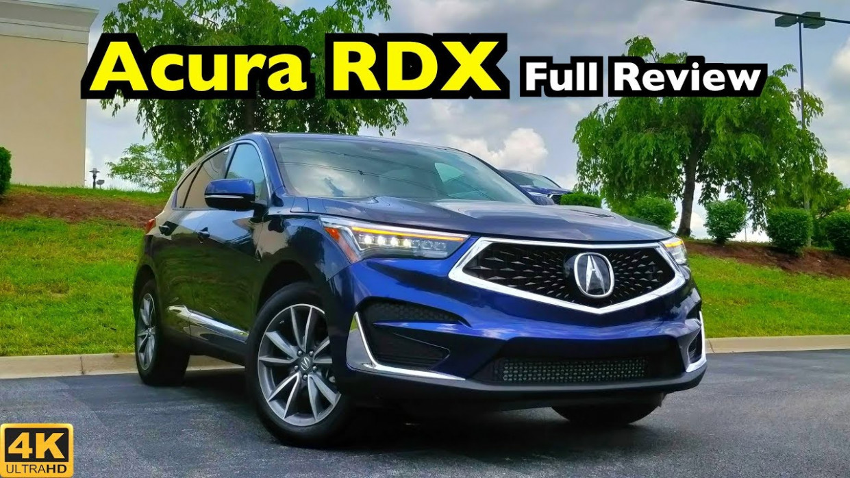8 Acura RDX: FULL REVIEW + DRIVE | Acura Hits a Home Run!