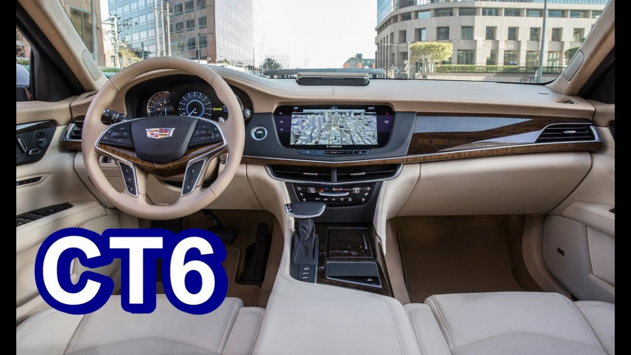 8 Cadillac CT8 - INTERIOR - 2020 cadillac ct6 interior