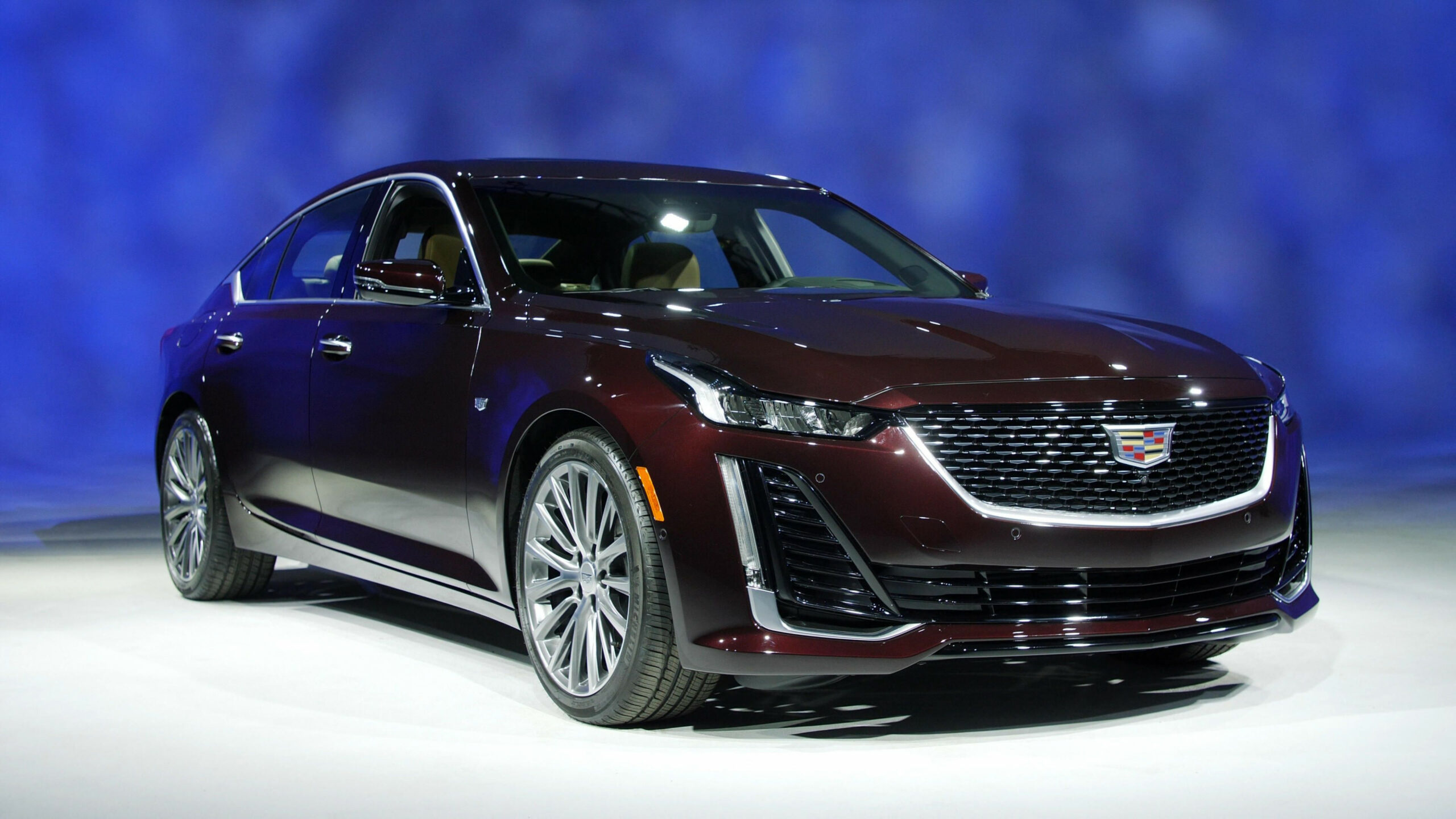 8 Cadillac CT8 is a right-sized, sporty luxury sedan
