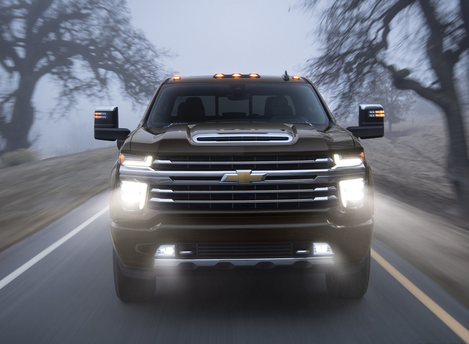 8 Chevrolet Silverado 8 HD High Country Front Wallpapers (8 ..