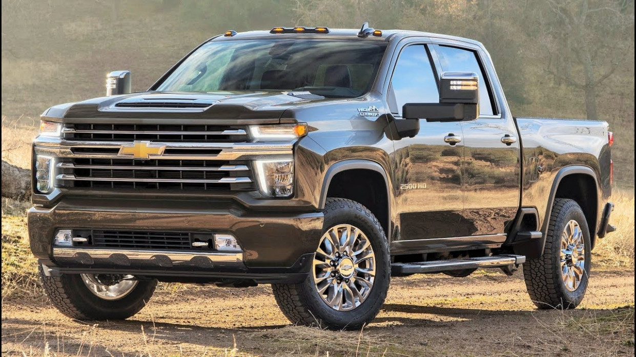 8 Chevrolet Silverado 8 HD High Country - Tougher, Stronger And More  Capable Pickup