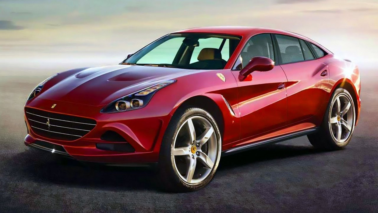8 Ferrari Crossover - first sport SUV by Scuderia