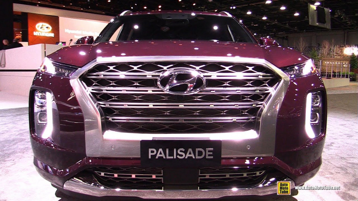 8 Hyundai Palisade - Exterior and Interior Walkaround - Detroit Auto  Show 8