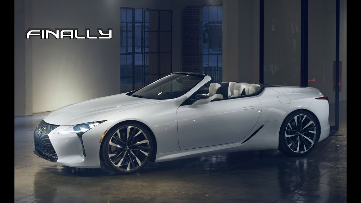 8 LEXUS LC 8 Convertible Debut | It's About Time