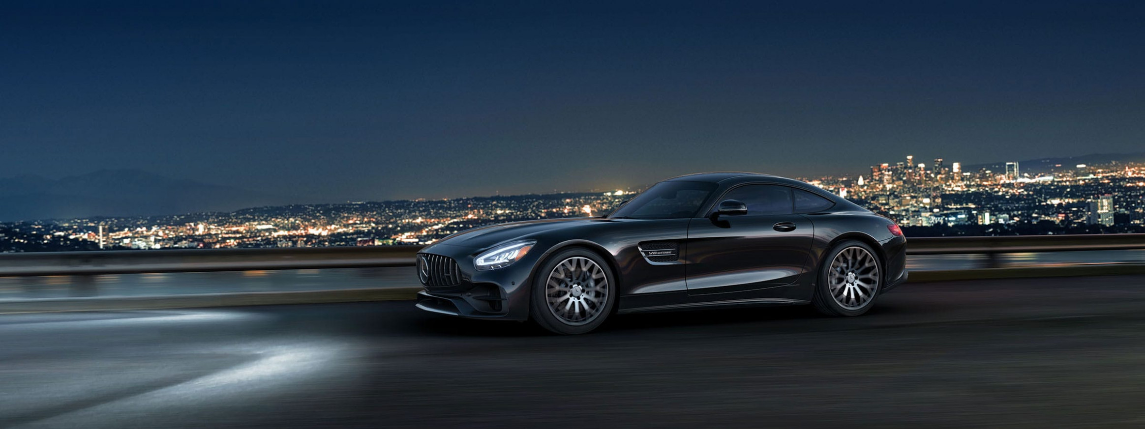 8 Mercedes-AMG High Performance GT C Coupe Sports Car