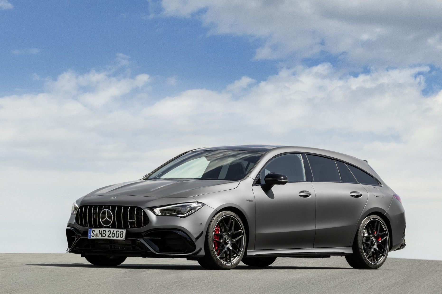 9 Mercedes-AMG CLA 9 Shooting Brake Revealed as Sexy Wagon ...