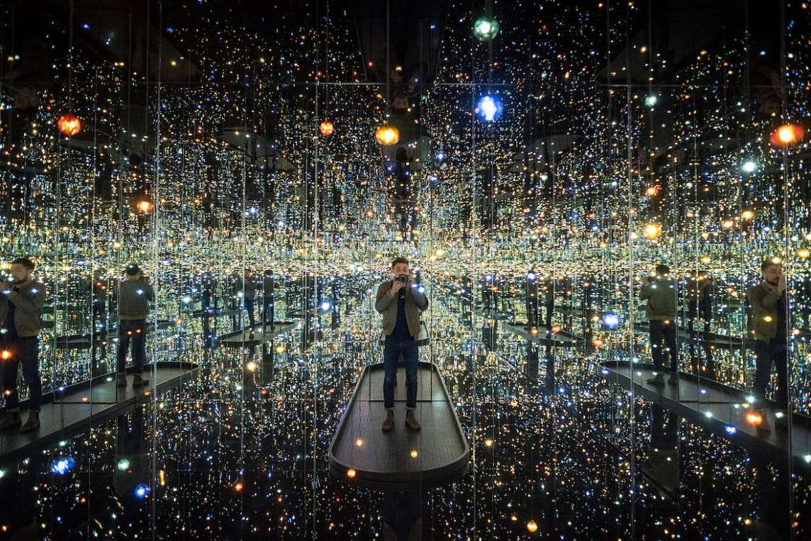 9 places where you can find a Yayoi Kusama Infinity Mirror Room ..