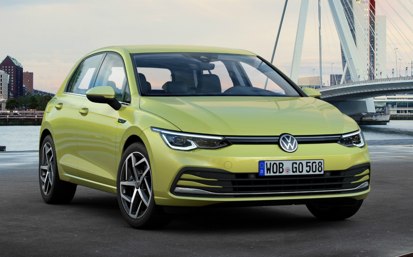 All-new 8 Volkswagen Golf unveiled