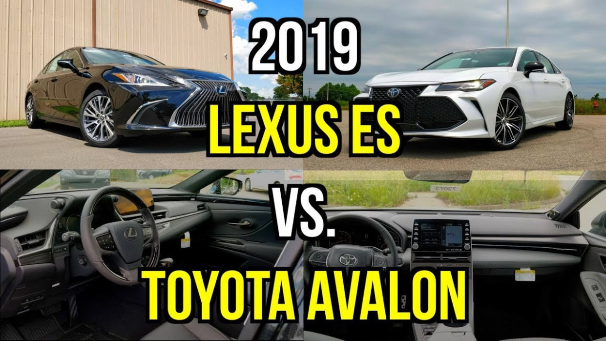Best Toyota Luxury Sedan -- 7 Lexus ES 7 vs