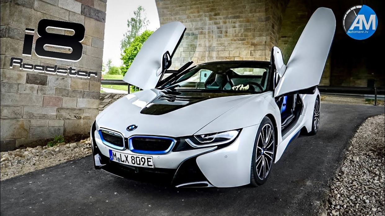 BMW i8 Roadster - DRIVE & SOUND! - 2020 bmw i8 convertible