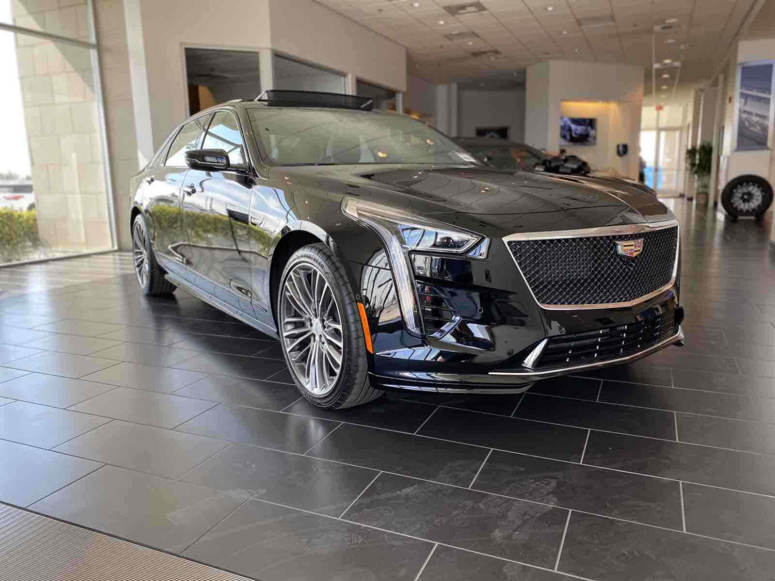 Cadillac CT8 8 for sale. Exterior color : Black.