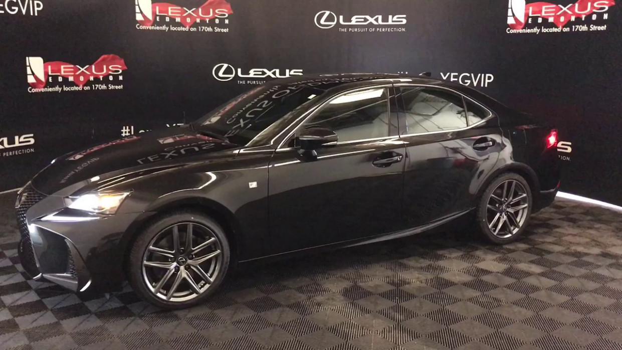 Caviar 6 LEXUS IS 6 F Sport Series 6 F Sport Series 6 Review Edmonton  AB - Lexus of Edmonton Ne - lexus is 300 f sport 2020