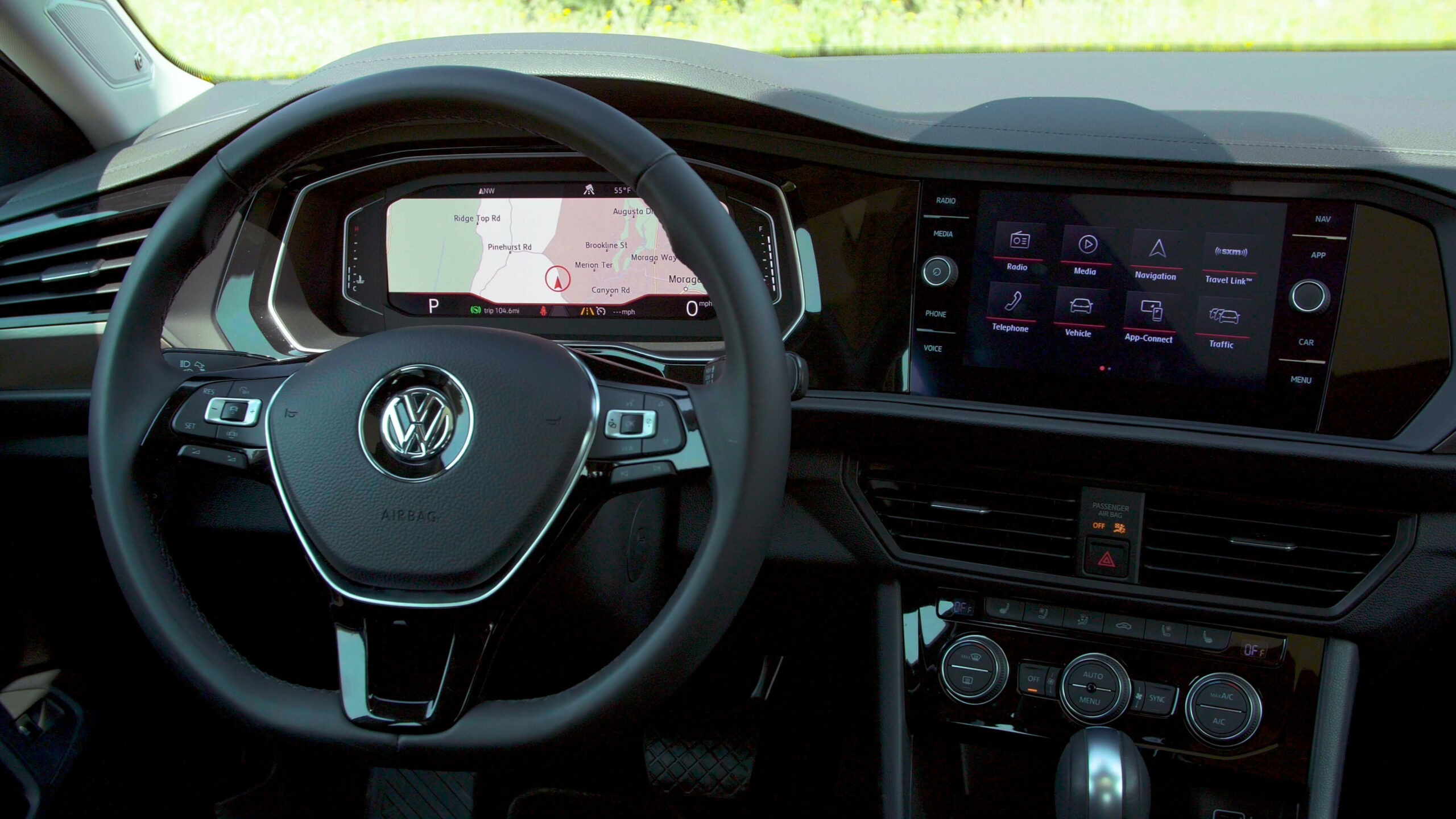 Check out Volkswagen's Digital Cockpit tech in the 7 Jetta