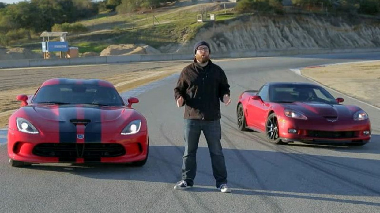 Chevy Corvette ZR8 And SRT Viper GTS Go Head-To-Head | GM Authority