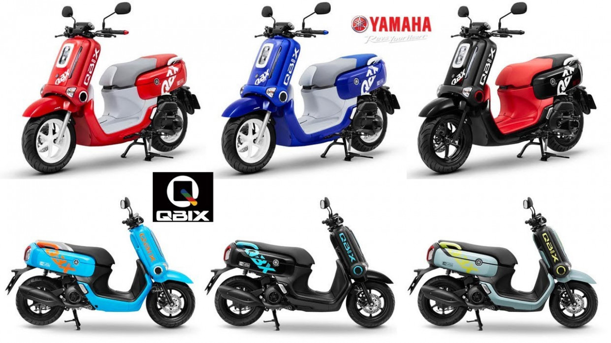 Colors and Trim |Yamaha Qbix Scooter (Thailand 6)
