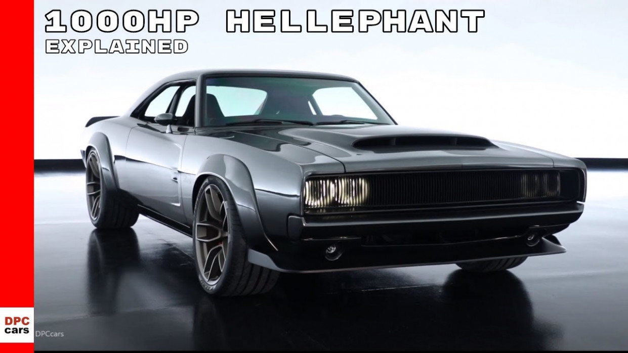 Dodge Charger With 8HP Hellephant 8 Supercharged Crate HEMI Engine - dodge elephant 2020