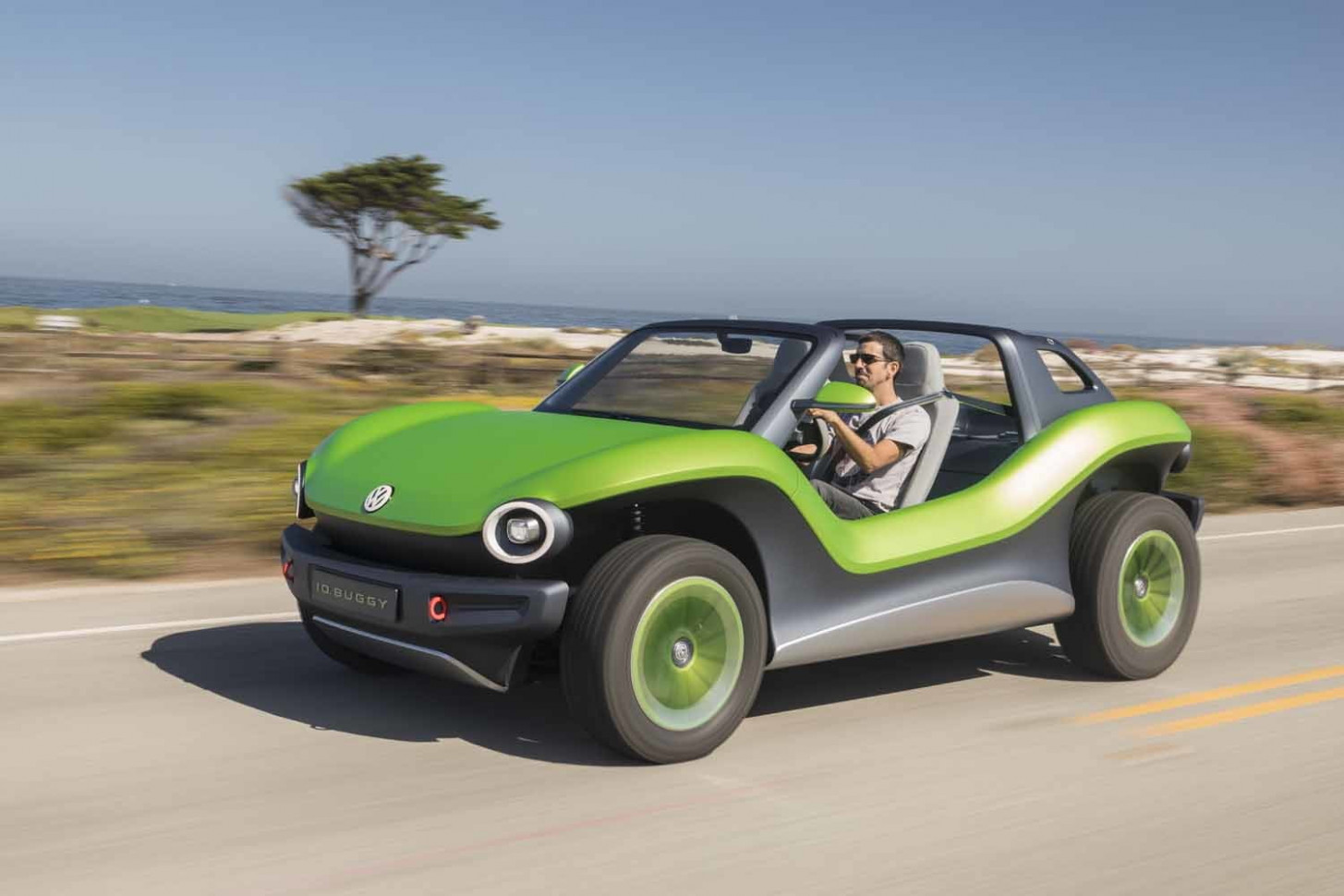Driving Volkswagen's One-of-a-Kind Electric ID Buggy Concept Car