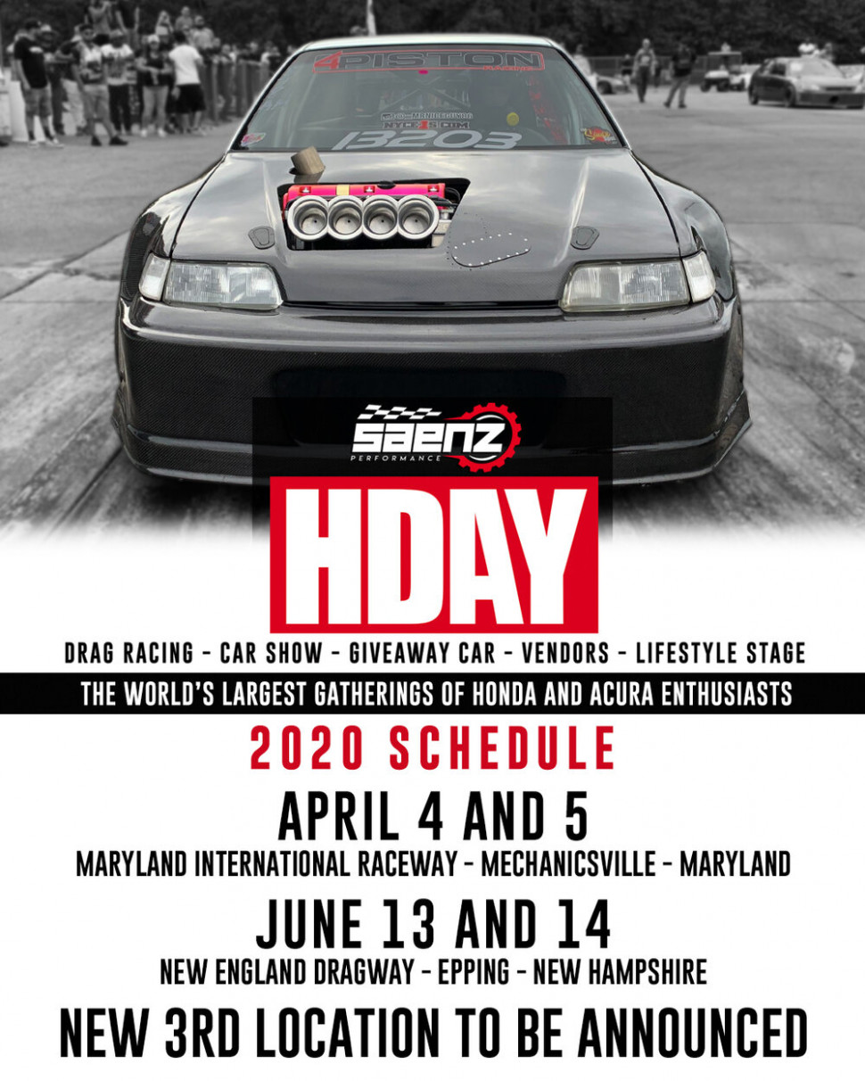 EVENTS — HDAY - 2020 honda day