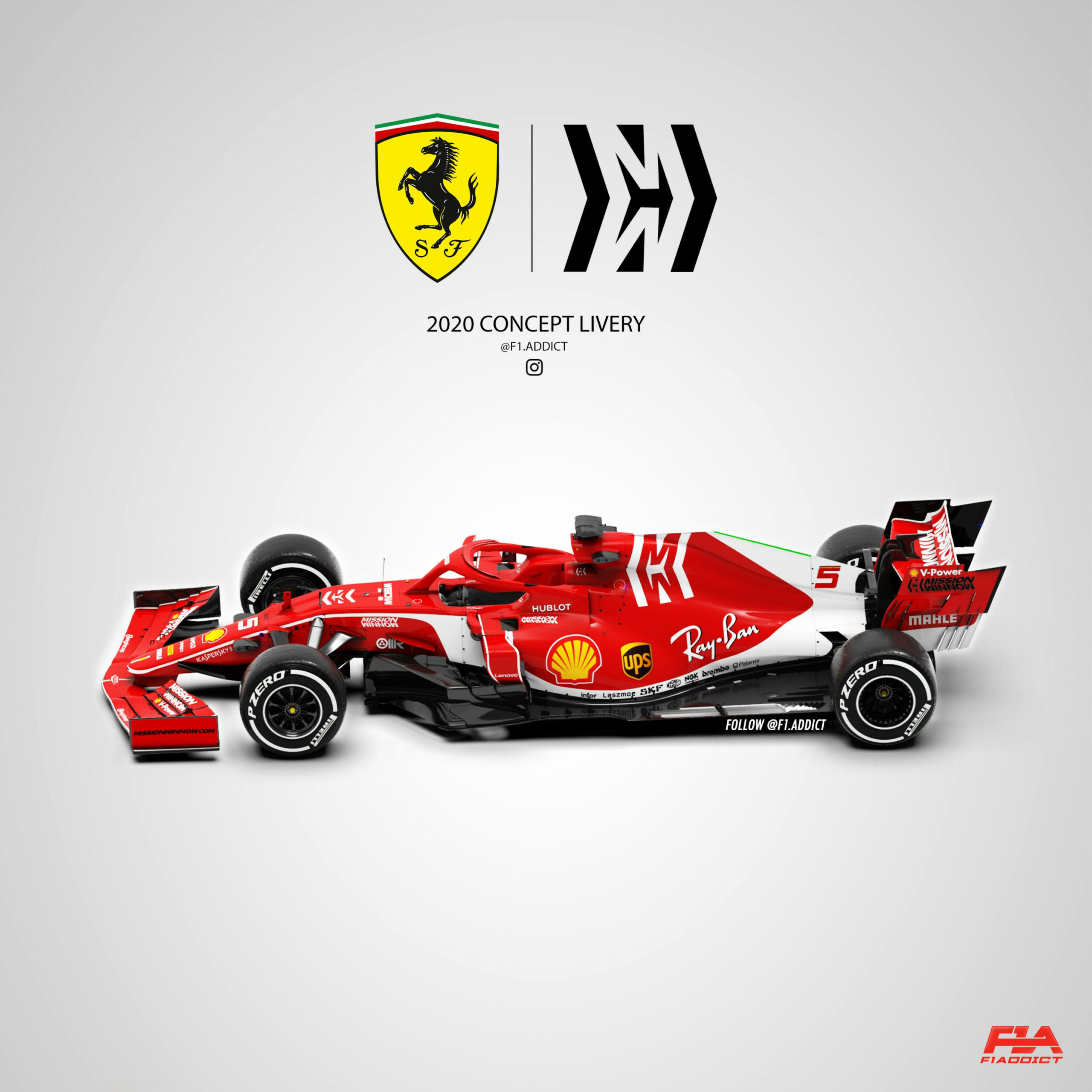 Ferrari 8 Concept Livery. Hope you like it! : formula8