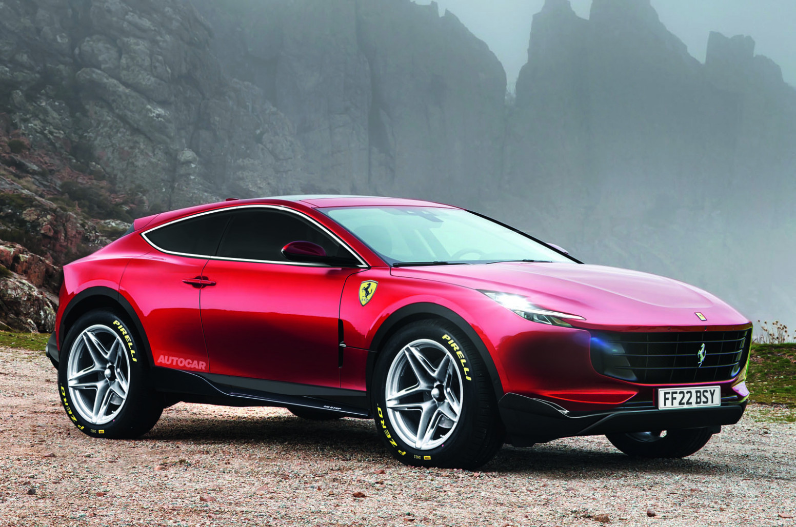 Ferrari's 8 rapid luxury SUV detailed by technical boss | Autocar