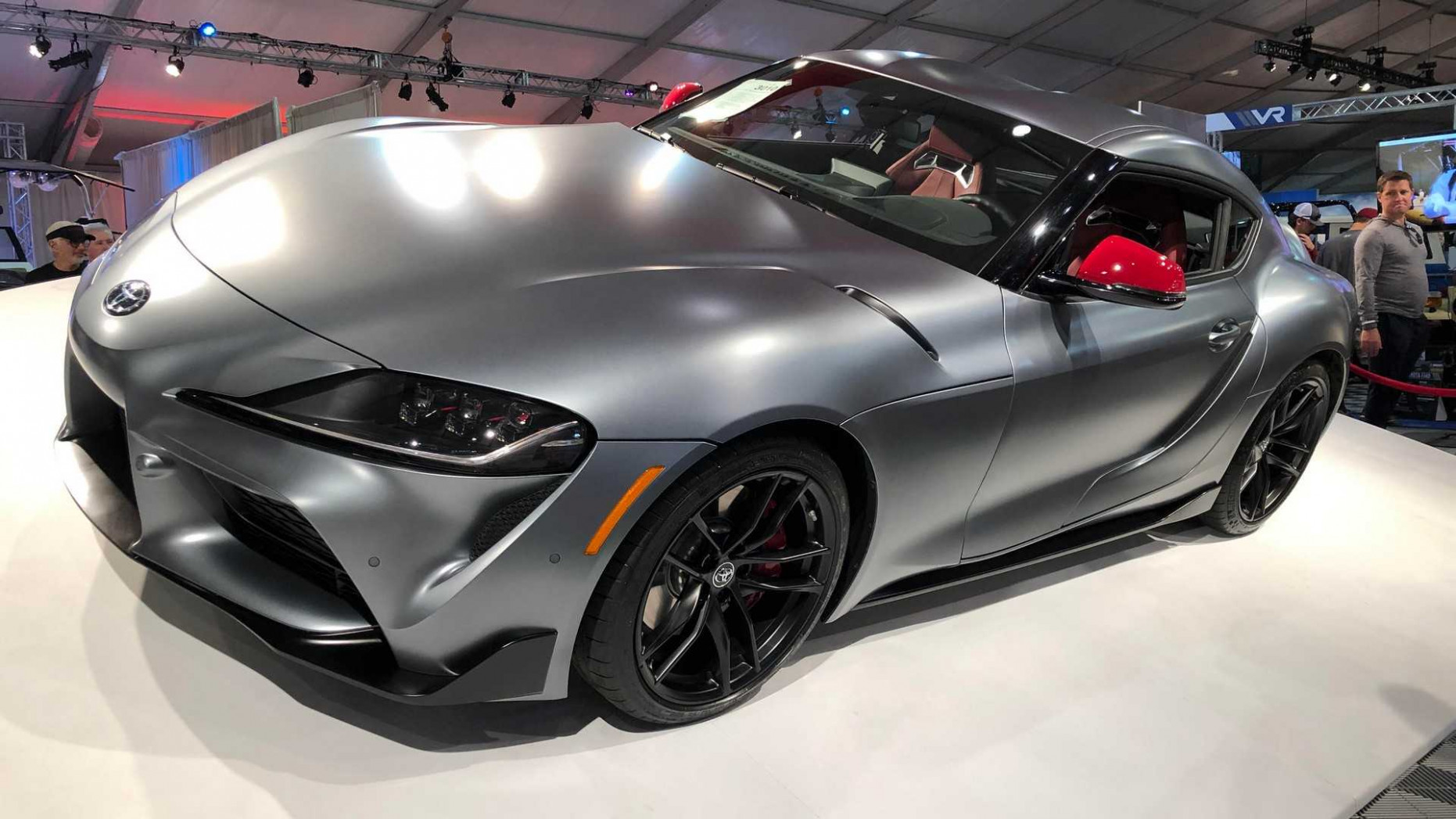 First Production 7 Toyota Supra Sold For $7