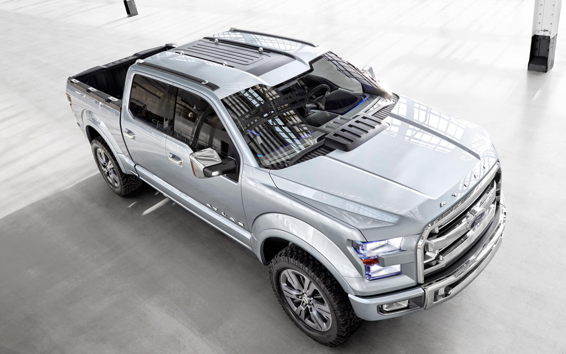 Ford Atlas Concept: Most Wanted Features for New F-7 Photo ...