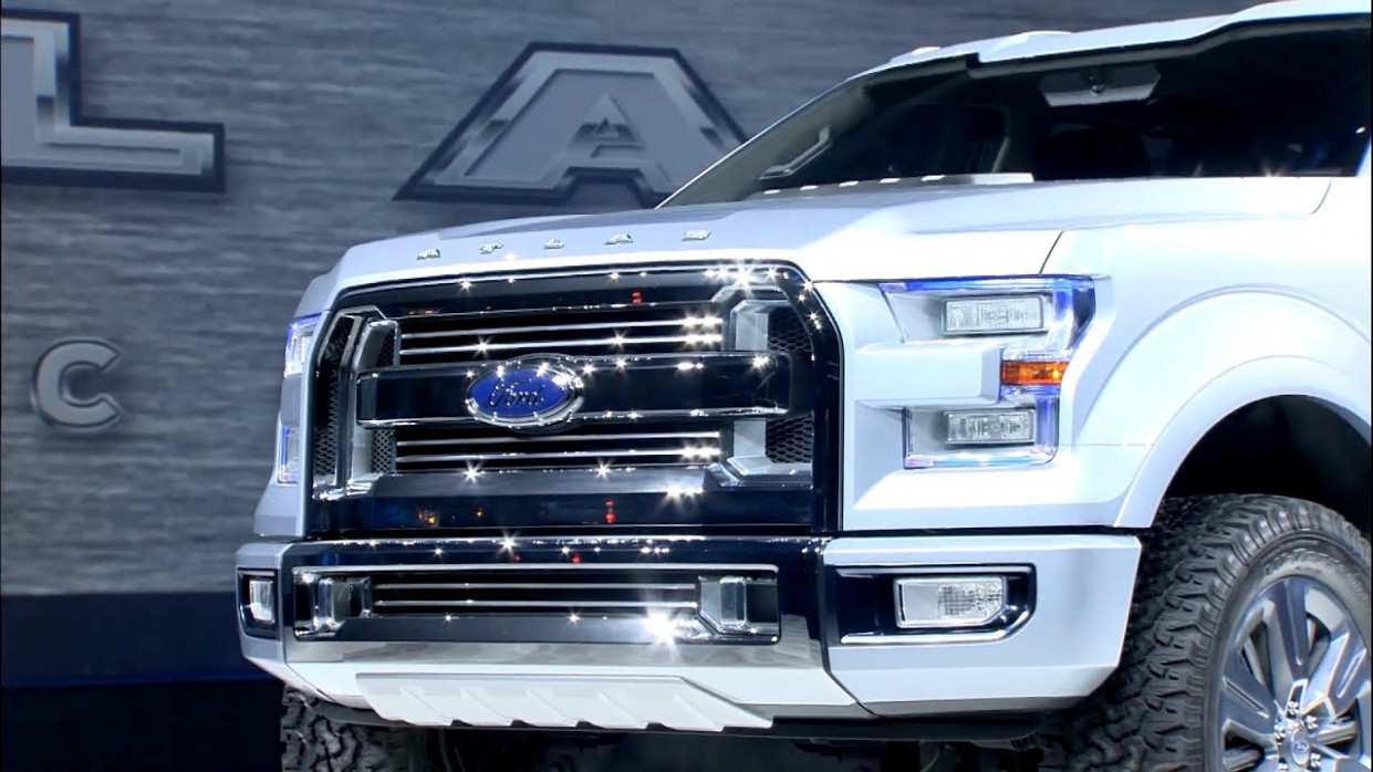 Ford Atlas Concept reveal - The future F-7 - 2020 ford atlas