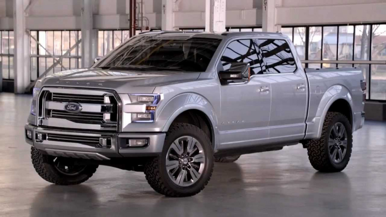 Ford Atlas was unveiled at the Auto Show in Detroit, but implies ..